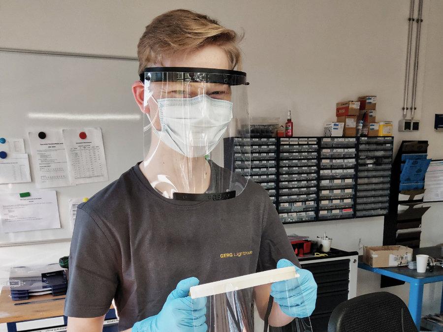 Gesichtsschutz aus dem 3D-Drucker