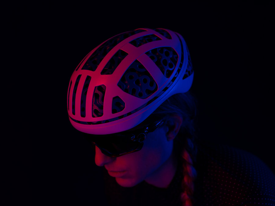 Hyperganic 3D-Druck Fahrradhelm